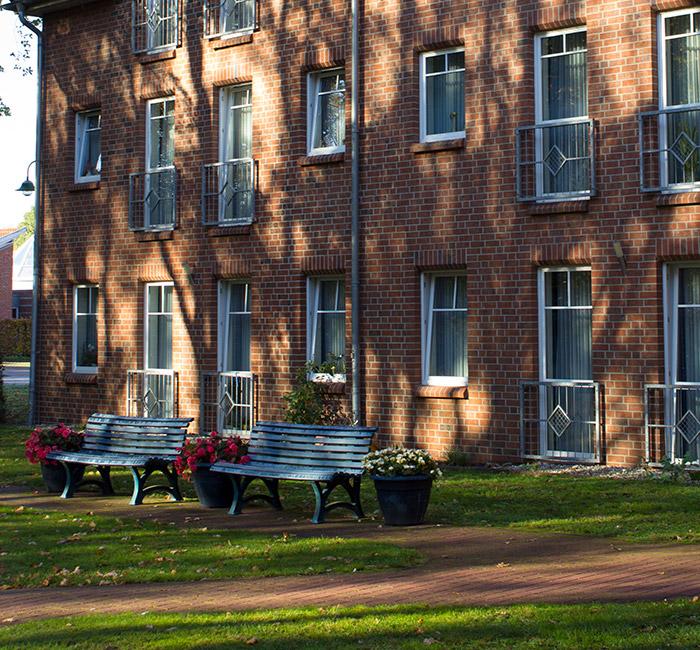 Garten des Pflegezentrums St. Kilian