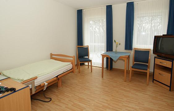 Zimmer im Pflegezentrum St. Kilian